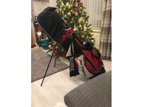 Ben sayers golf bag and clubs