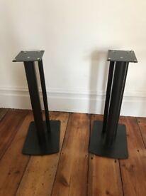 Floor speaker stands