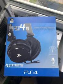 Pro 410 PS4 Headset