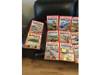 40 railway modeller magazines 2014 to 2018
