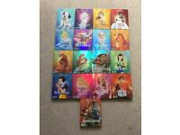 17 Disney Blu-Rays in collectible o-ring covers - some brand new and sealed
