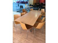 large table dining room meting conference