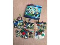 LEGO Legends of Chima 70100,70105,70107,30251,70113,70102,storage box, cards and figures