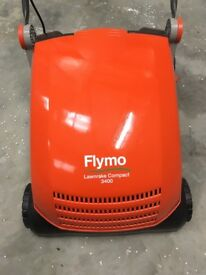 Flymo 3400 Compact Electric Lawnrake NEW