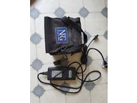 36 hole lead acid battery and charger for motocaddy