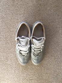 Y-3 Boxing Trainers - Grey & White - Size 10
