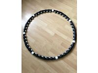 Hula hoop - professional weighted magnetic fitness