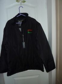 """Brand new Winter sports coat.""""BEST IN TOWN""""..Black.. chest 50"""" Polyester.Warm&Light"""