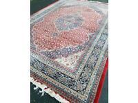 Large Handmade Iranian Moud Carpet - Persian Rug