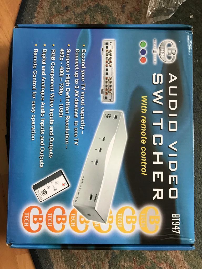 Audio switcher | in Plymouth, Devon | Gumtree