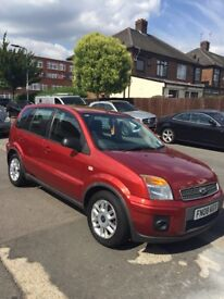 Ford Fusion/ Automatic/2008/1.6/ Petrol/5Doors/ 52K