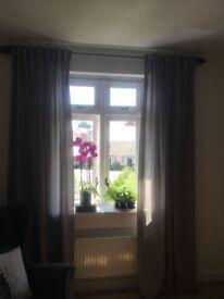 Modern curtains with a Scandinavian touch