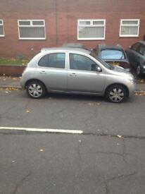 Nissan micra 1.2 5 door 62000 miles BARGAIN PRICE