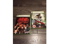 2 Xbox 360 games