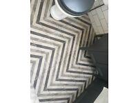 Mandarin stone porcelain tiles for bathroom or kitchen