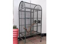 Very Large Parrot Bird Cage - Heavy Duty.