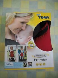 Almost brand new Tomy Freestyle Premier baby carrier