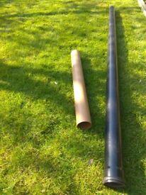 Soil Pipes (1 underground, 1 overground)