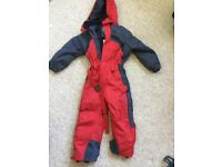 Child's all in one ski/winter suit