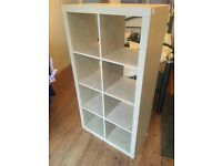 Ikea KALLAX wood effect shelving unit - very good condition