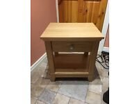IKEA beside table with drawer