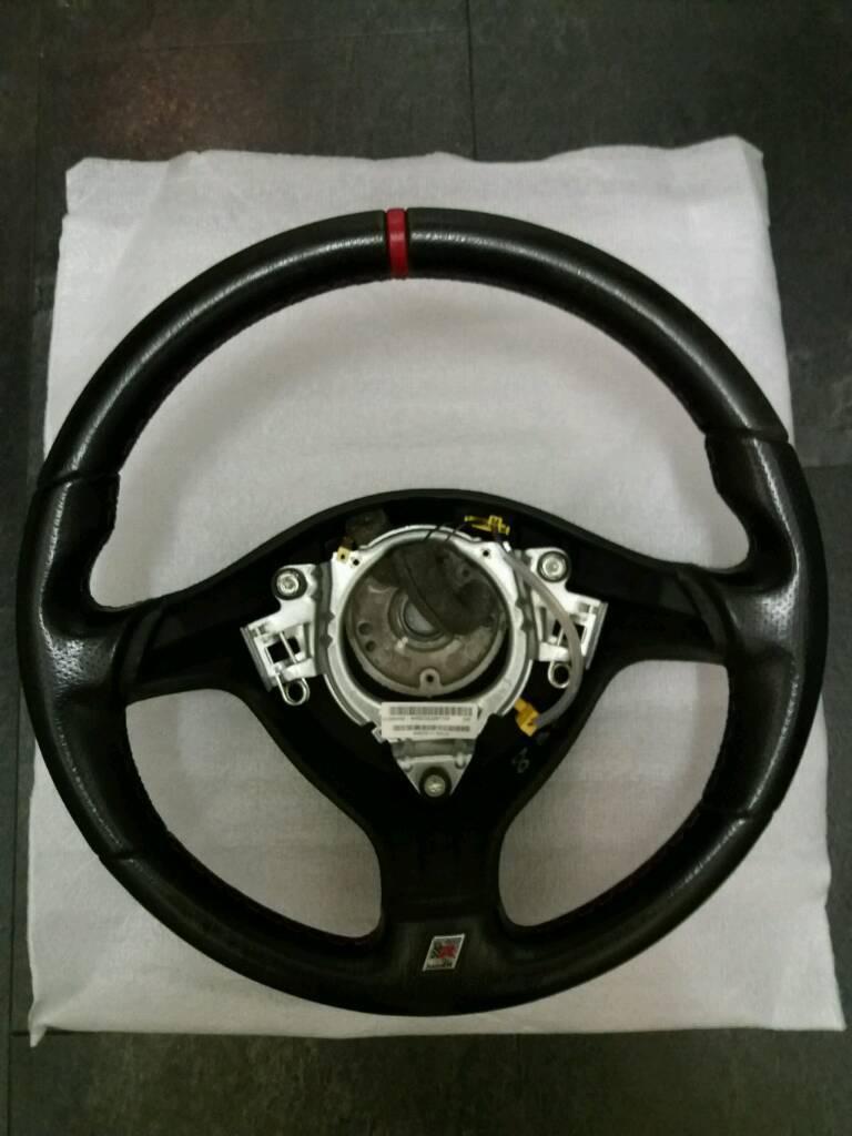 Seat Leon Cupra R steering wheel