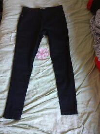 size 12 brand new black jeans TU sainsburys