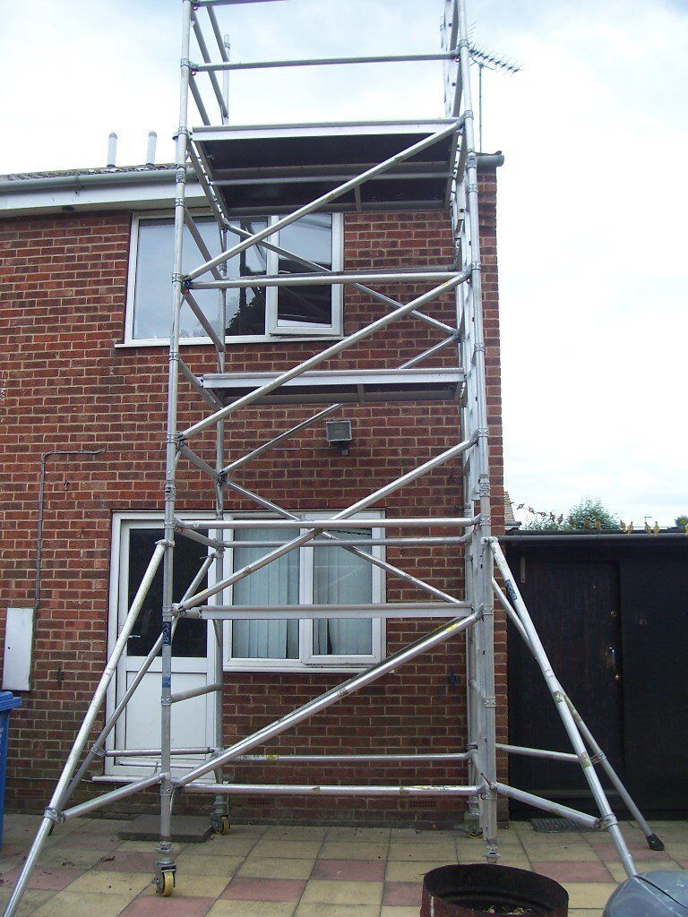 how to put up boss scaffolding