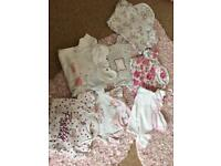 Girls vests & baby grows
