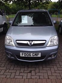 Vauxhall meriva 1.6 Petrol.12 months MOT very good condition