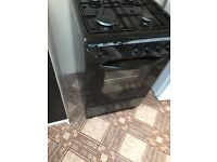 Freestanding Gas Cooker with oven, fully working, with pipe