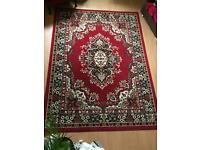 Large rug- red Persian style