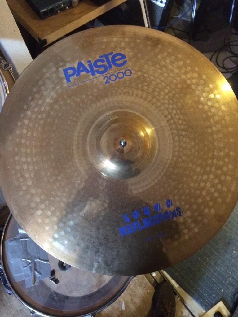 """Paiste 2000 Sound Reflections series 20"""" ride cymbal"""