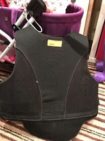 Child small riding body protector