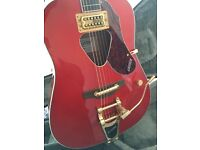 Gretsch Racher Acoustic guitar with Bigsby tremolo