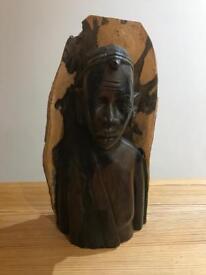 African statue / figure