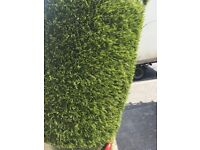 4.70 x 1.80 Artificial grass remnant 40mm