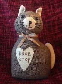Fabric Cat Doorstop