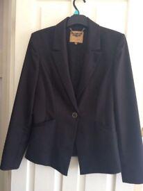 Ted Baker Black Jacket size 12