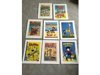 POSTER PACK: THE BEANO A COLLECTION OF POSTERS FROM THE CLASSIC COMIC BOOK