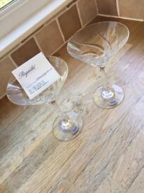 Rogaska Crystal Cocktail Glasses