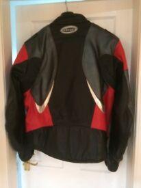 Lewis Leathers Motorcycle Jacket, UK size 48