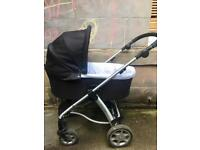 Mamas and Papas sola pram, chassis, buggy and cosy toes