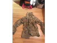 British army multi cam gortex jacket
