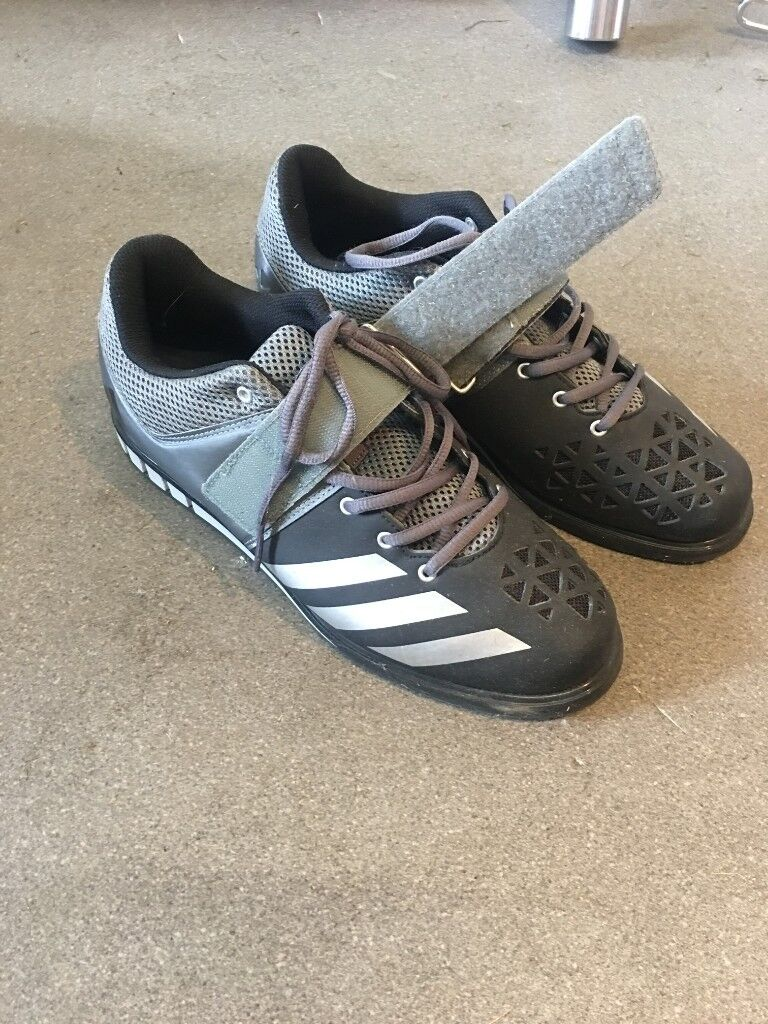 16f722205d3a Mens ADIDAS POWERLIFT 3.1 Weight Lifting Running   Training   Trainers    Shoes. Grey and Black