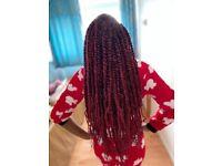 Euro & Afro Caribbean hair stylist