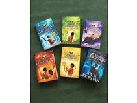 Rick Riordan - Percy Jackson Books x6