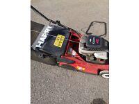 Petrol Harry lawnmower