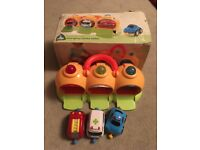 Happyland emergency vehicles with sounds