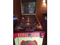 Bally Turf King , pinball type machine
